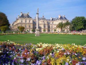 Jardin Du Luxembourg, Paris, France, Palais, Bâtiment