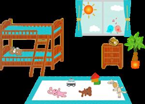 Chambre D'Enfants, Lit Superposé, Fenêtre, Salle