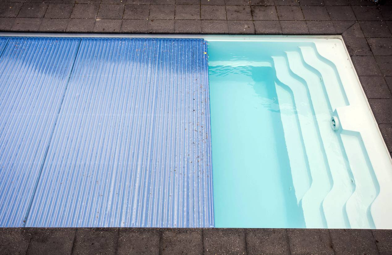 couverture piscine bache