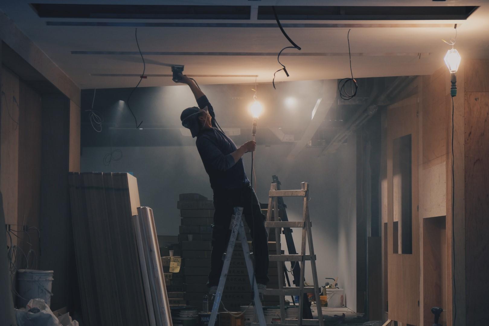 installation Faux plafond acoustique